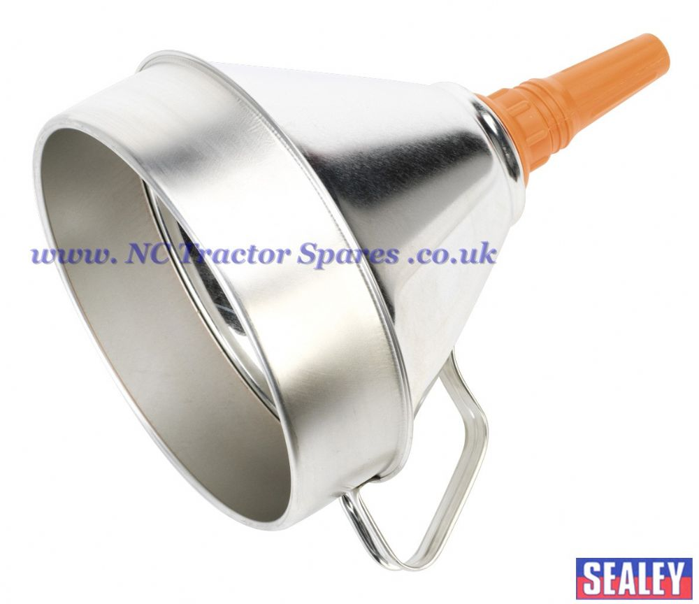 Funnel Metal with Filter 200mm